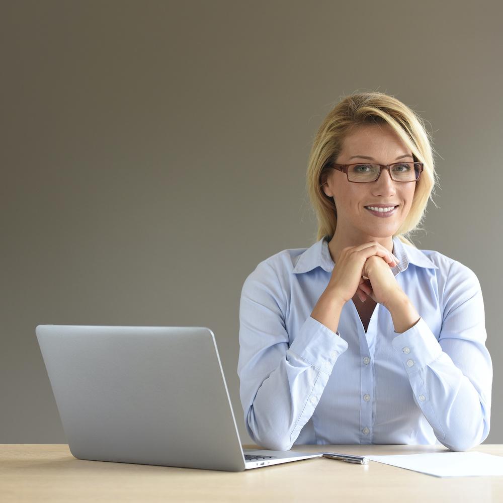 Kategoriebile Brille Arbeitsplatz